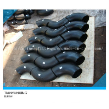 Butt Welded 90deg Seamless Elbow Mild Steel Fittings